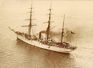 """Buque Escuela """"General Baquedano"""", Este buque escuela, la cual fue tambien conocida como """"La Baquedano"""", efectuo sus trabajos de escuela desde 1899 hasta 1935, siendo reemplazada por Buque Escuela """"Lautaro"""" (1941 - 1945)."""