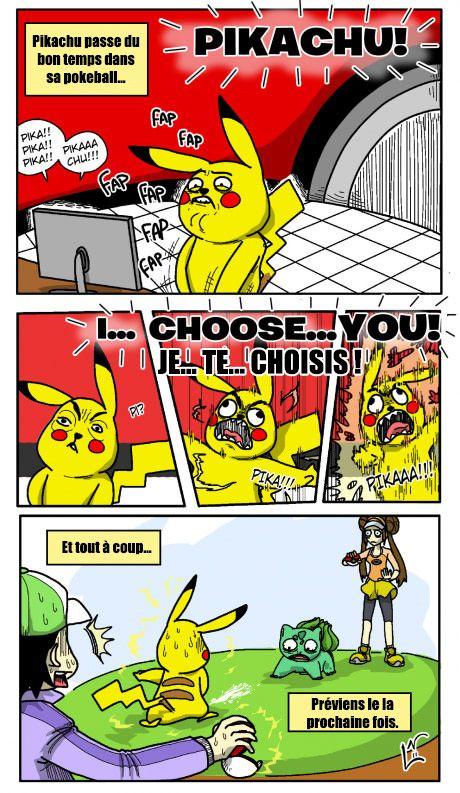 Pikachu, je te choisis ! - Be-troll