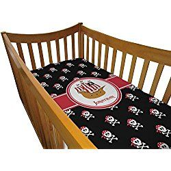 Pirate Crib Comforter / Quilt (Personalized)
