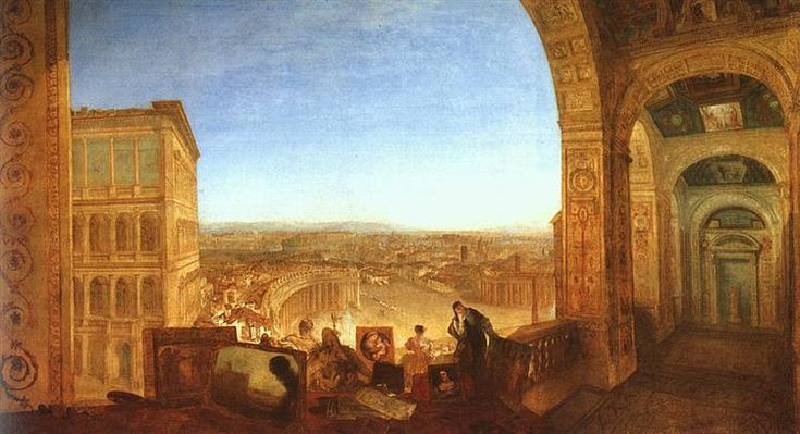 Rome from the Vatican - Turner William