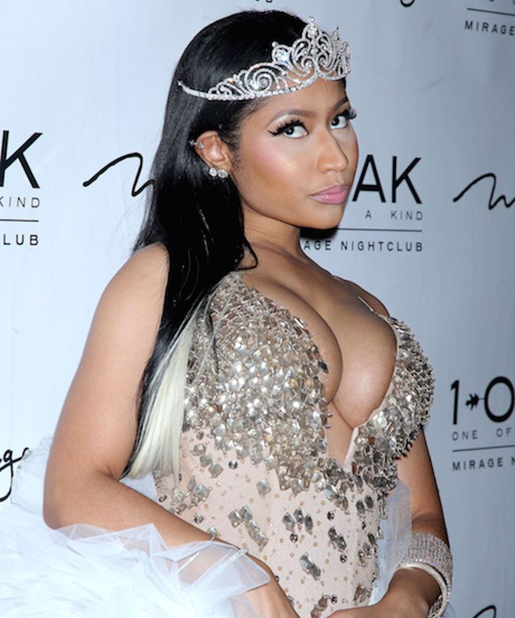 Either Nicki Minaj Is Engaged Or This Is The Sparkliest