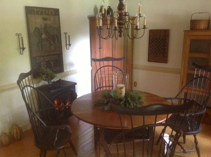 I Get To Look At Mommas Corner Cupboard And Kathys Amazing Art Work My Chairs Table Are Hand Crafted By Lawrence Crouse