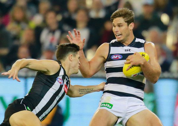 Tom Hawkins Photos Photos: AFL Rd 6 - Collingwood v ...
