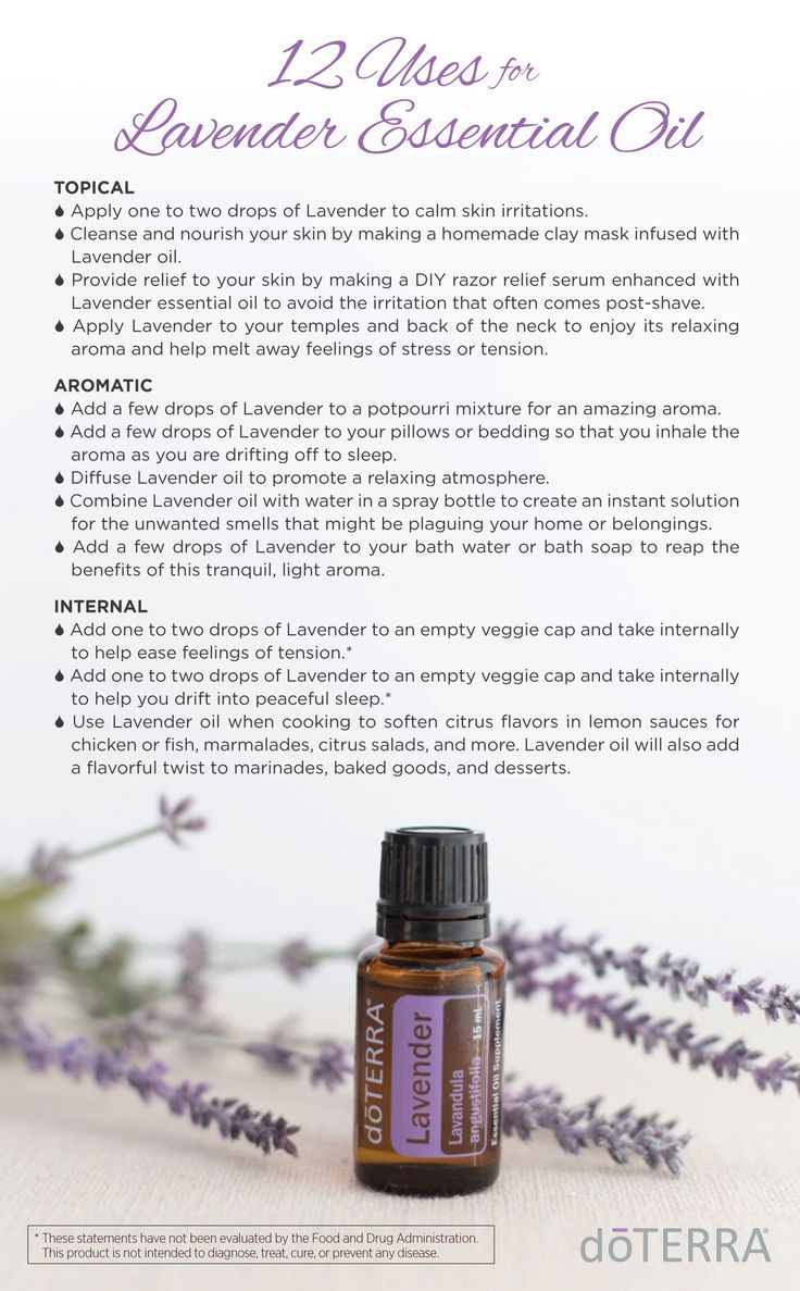 Due to Lavender's versatile properties, it is considered the must-have oil to have on hand at all times. #doTERRA #essentialoils