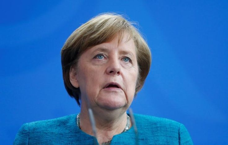 #world #news  Germany's Merkel says protectionism hurts in the long-run