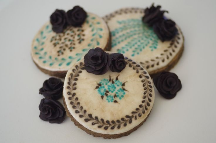 galletas efecto azulejo antiguo, by doctorcookies