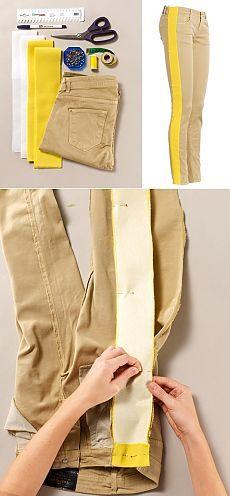 Cómo aumentar el tamaño de los pantalones vaqueros de 2 tamaños (DIY) / Redimensionar / Las manos - los modelos, alteración de la ropa, decoración de interiores con sus propias manos - en la segunda calle
