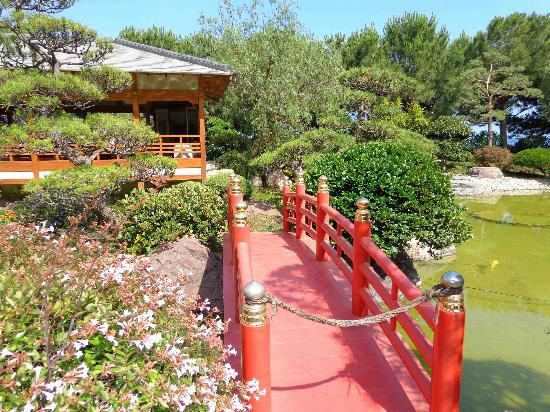 **Japanese Gardens (free entry) - Monte-Carlo, Monaco