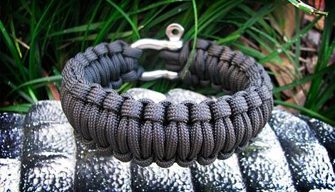 Made from military-issue 550 paracord, Survival Straps ($18-$25) are bracelets designed to help you in an emergency. With 15 to 20' of cord used in each bracelet, you simply unravel it to instantly have a section of strong rope for any number of uses.