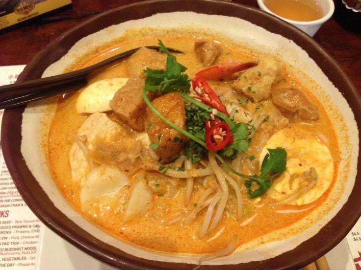 Luke Nguyen inspired seafood laksa