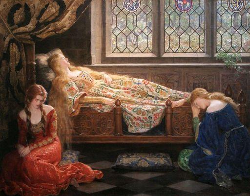 diary. «Спящая красавица» Кольера (Картинки)