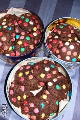 B&B: Anyuci készítenél...: Cukorkás csokoládés tallérok