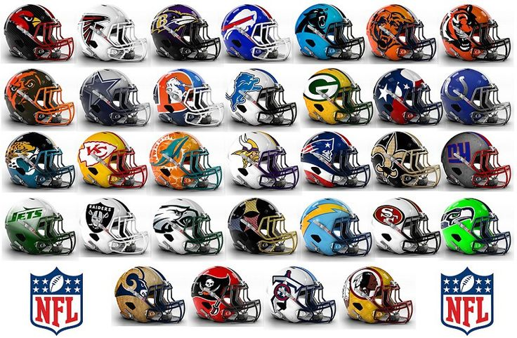 Here's what NFL helmets could look like, if this graphic designer had his way. Description from nydailynews.com. I searched for this on bing.com/images