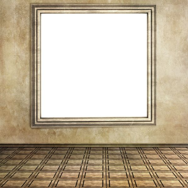 Vintage design of empty room 05.jpg ❤ liked on Polyvore featuring rooms, backgrounds, empty room, interior and templates