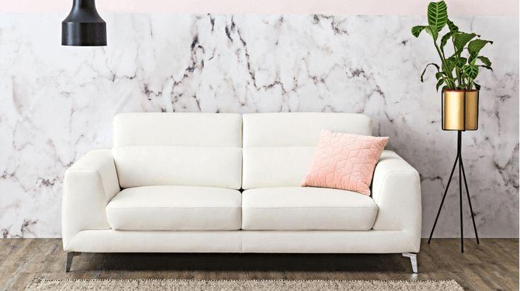 Astra Leather Lounge | Domayne