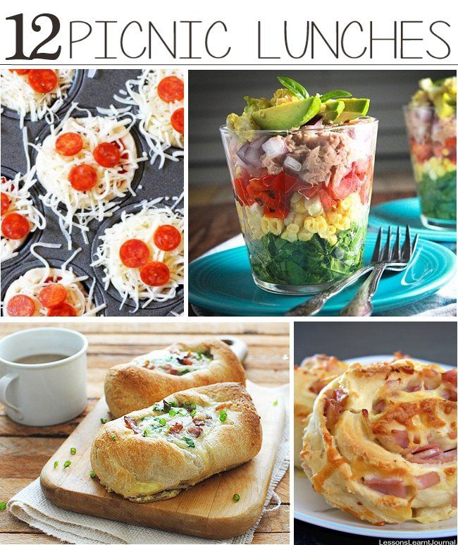 50 Picnic Ideas For Kids And Adult. Picnic Food