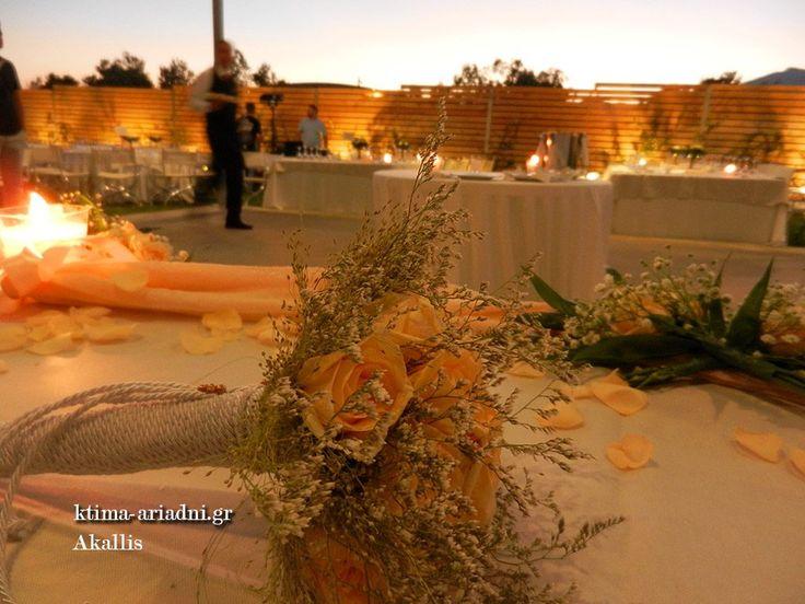 Γαμήλια δεξίωση στο κτήμα Ακαλλίς στην Βαρυμπόμπη