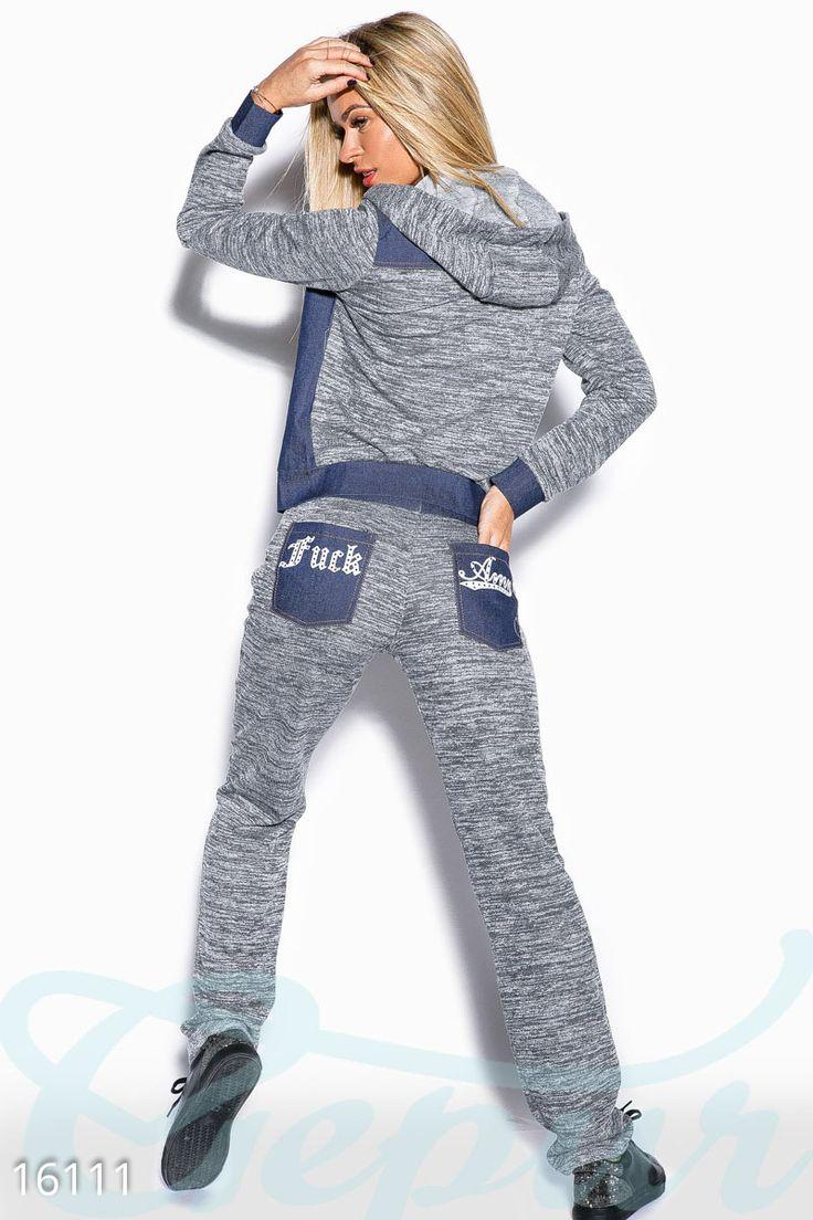 Gepur | Стильный повседневный костюм арт. 16111 Цена от производителя, достоверные описание, отзывы, фото