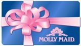 Molly Maid Gift Certificate A push present any new mom would be happy to receive! Clean house = more cuddle time (and napping time) with baby