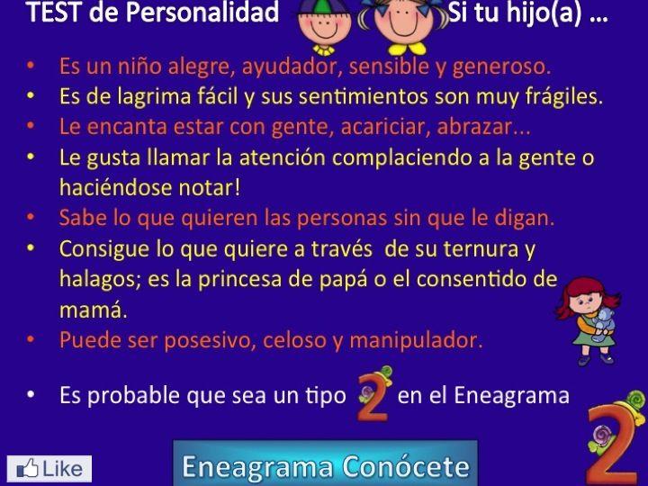 Personalidad Tipo 2 del Eneagrama