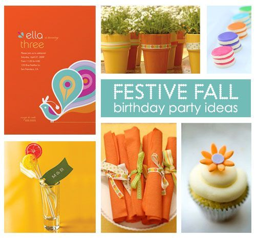 fall birthday decorations | fall birthday party ideas for girls - Google ... | Eva's 5th birthday ...
