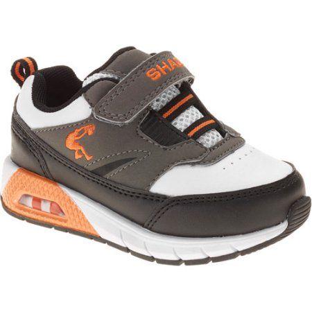 Shaq Toddler Boys' Alternate Fastner Retro Basketball Shoe, Black