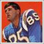 BOB PETRICH - A native of San Pedro, Bob Petrich played college football at West Texas State University. He was drafted by the San Diego Chargers in 1963 where he earned the position of starting end. That year, the Chargers claimed the AFL Championship against the Boston Patriots 51-10. In 1967, he joined the Buffalo Bills for one year, and then moved to the Canadian Football League's Toronto Argonauts for his final year, retiring due to recurring injuries.
