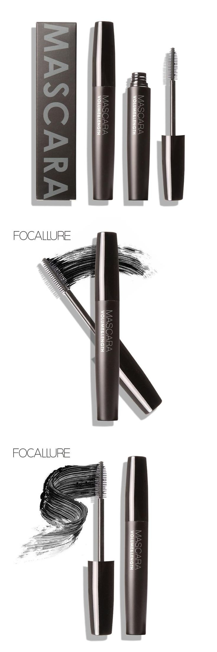 [Visit to Buy] 1PCS  Professional colossal Mascara Volume Express Makeup Eyelash Mascara Brand new for the eyes waterproof by focallure #Advertisement