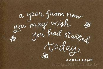 Yo! Quit procrastinating! Start exercising TODAY!