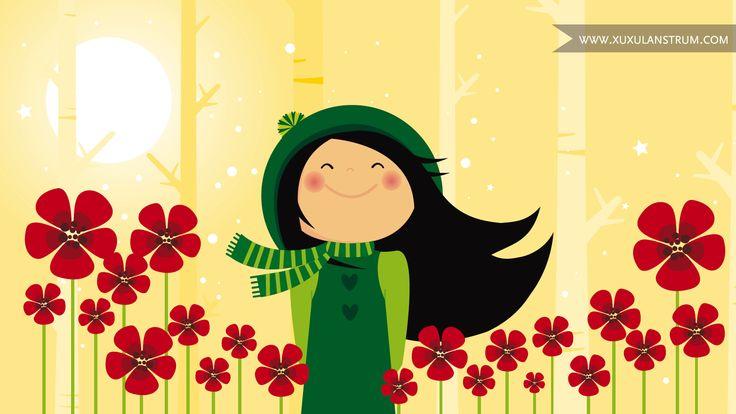 Mmmmmm como nos gustan las flores y la brisa que nos acaricia con su perfume! ;-)