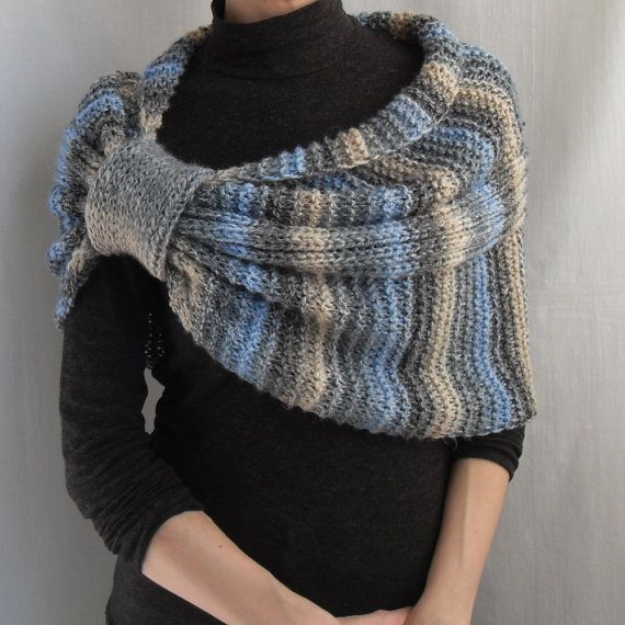Vente 20 % Hand Knit Wrap, haussement d