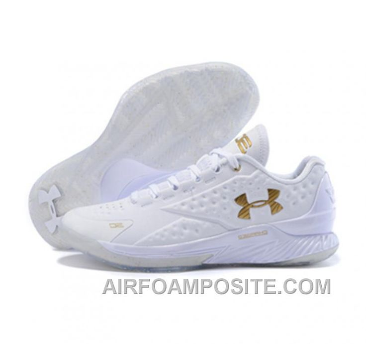 Under Armour ClutchFit Drive Low Stephen Curry Shoes Gold White NwPJY