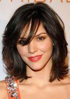 Fotos de cabelos femininos com franja