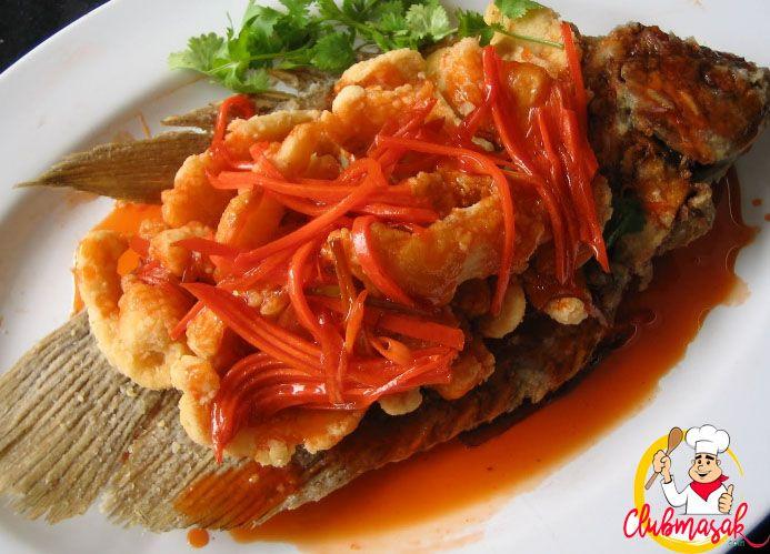 Resep Hidangan Lauk Kakap Asam Manis, Masakan Sehat Untuk Diet,  Club Masak