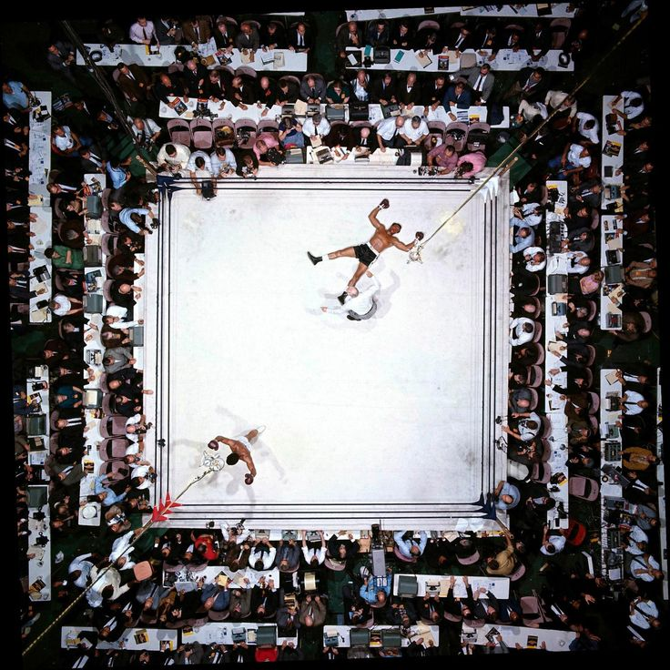 Mohammad Ali in victory over Cleveland Williams in Houston 1966. Still The Greatest as photographed by Neil Leifer