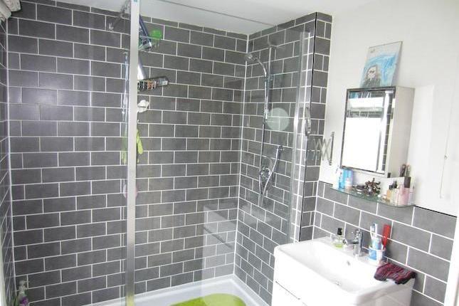 Master Bath Grey Subway Tile Shower Biiger Version