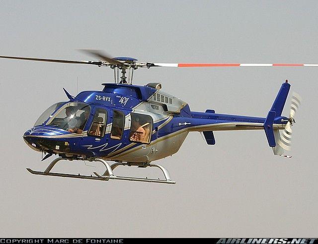 bell 407 jet ranger helicopter