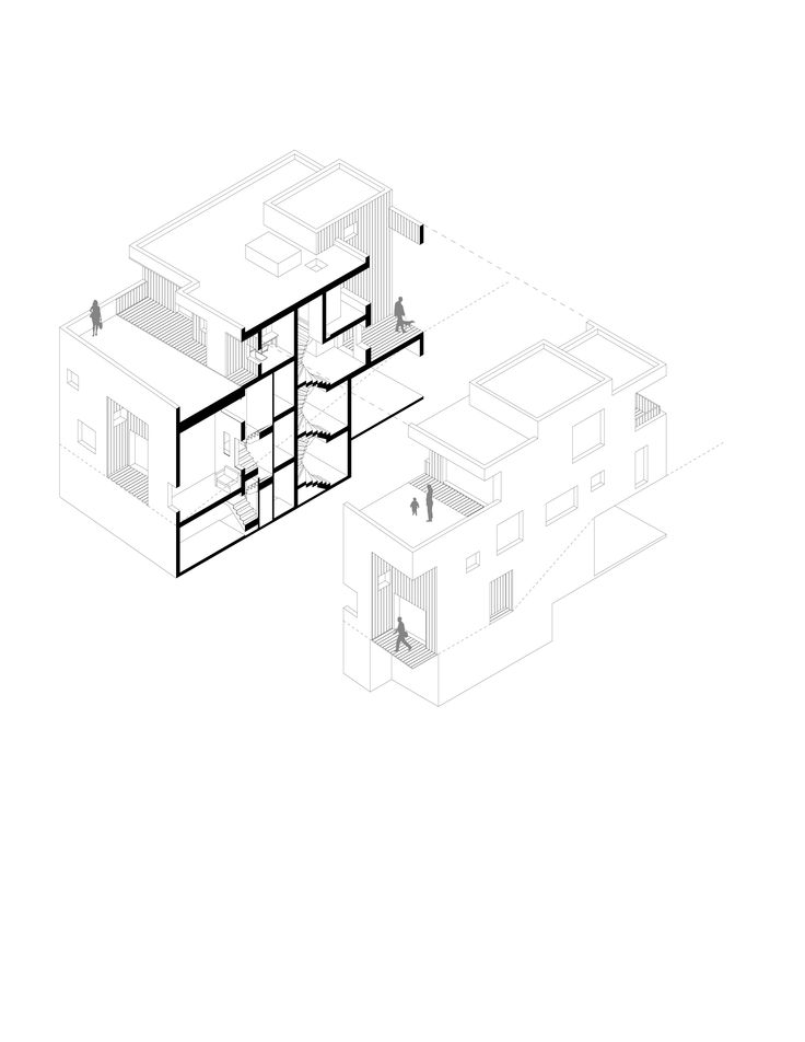 cubic housing - housing typology