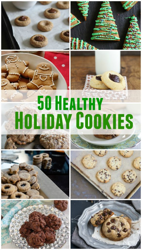 50 Healthy Holiday Cookies -This healthy holiday cookie roundup is full of recipes that are healthy, vegan, vegetarian, gluten-free, grain-free, sugar-free and of course delicious too. I hope some of these recipes inspire you to have an awesome holiday celebration this year. primaverakitchen.com