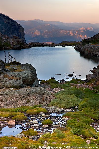 Lake of Glass, Rocky Mountain National Park; photo by Ron Niebrugge