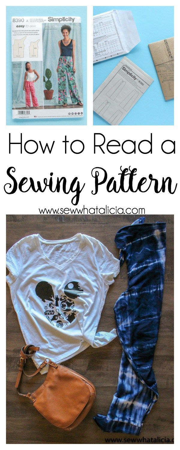 How to Read a Sewing Pattern Reading
