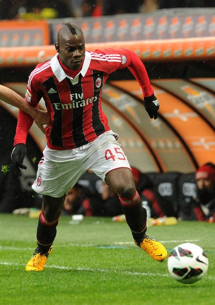 Mario Balotelli footballplayer of AC Milan