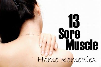 13 Sore Muscle Home Remedies that work #homeremedies #soremusclerelief,