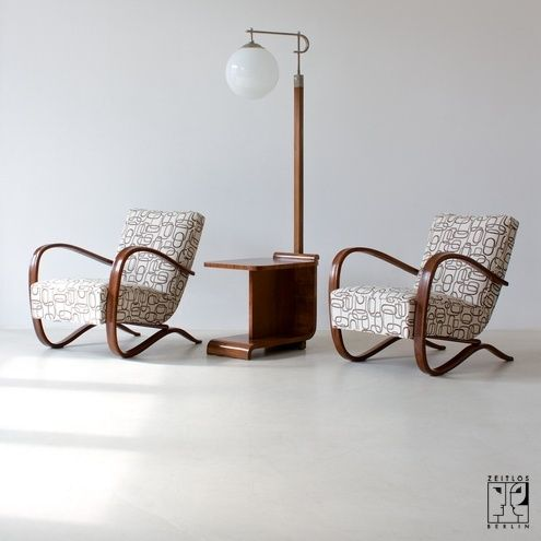halabala streamline chair zeitlos berlin floor lamp art deco art deco chairs