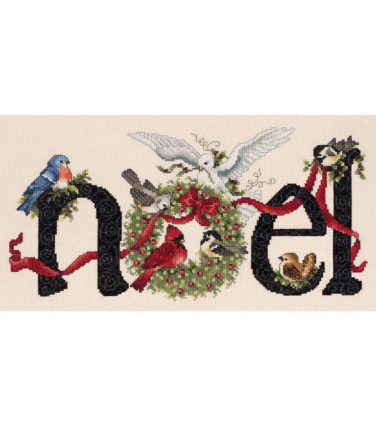 Janlynn Noel Counted Cross Stitch Kit - Joann Fabrics