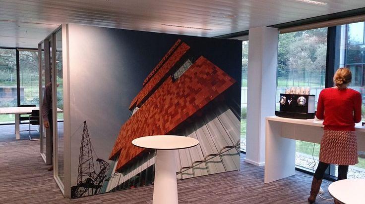 Textielframe / Aluminium / Vervangbaar doek / decotex / MAS Antwerpen - Arcadis