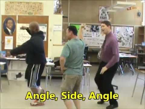 SSS, SAS, ASA, AAS (LPHS Math Parody Video of Jump On It) - YouTube
