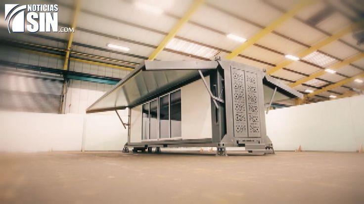 Compañía británica logra construir una casa en 10 minutos, gracias a impresora en tercera dimensión