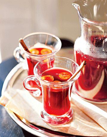 Pomegranate-Apple Cocktails