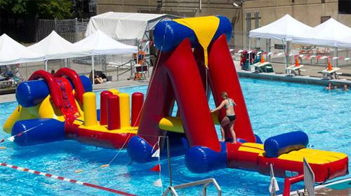 7 best inflatable rides images on pinterest inflatable pool toys pool fun and swimming pools for Mt hood community college pool open swim
